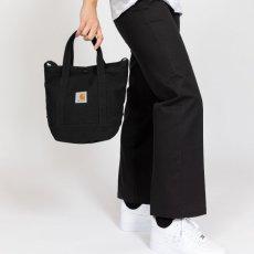 画像2: Canvas Small Tote Bag キャンバス スモール トート ショルダー バッグ 2way Dusty Hamilton Brown Black ハミルトン ブラウン ブラック (2)