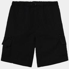 画像2: Elmwood Shorts タクティカル ナイロン カーゴ ショーツ リフレクティブ ラベル リラックスフィット アウトドア Black ブラック (2)