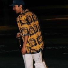 画像6: Drunkers S/S Shirt 半袖 総柄 オープンカラー シャツ Mustard Yellow マスタード イエロー (6)
