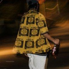 画像1: Drunkers S/S Shirt 半袖 総柄 オープンカラー シャツ Mustard Yellow マスタード イエロー (1)
