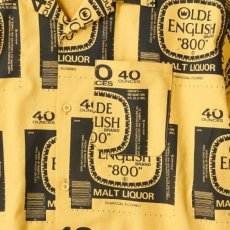 画像5: Drunkers S/S Shirt 半袖 総柄 オープンカラー シャツ Mustard Yellow マスタード イエロー (5)