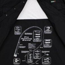 画像6: Ripstop Utility S/S Multi Pocket Shirts Fishing ユーティリティー フィッシング 半袖 シャツ Black ブラック (6)