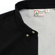 画像3: Ripstop Utility S/S Multi Pocket Shirts Fishing ユーティリティー フィッシング 半袖 シャツ Black ブラック (3)