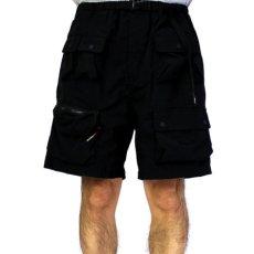 画像7: Ripstop Utility Multi Pocket Shorts ユーティリティー フィッシング Fishing ショーツ ハーフ パンツ Black ブラック (7)