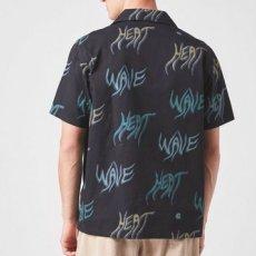 画像8: Heat Wave S/S Allover Open Colour Shirt オープンカラー ルーズフィット アロハ 半袖 柄 シャツ Black ブラック (8)