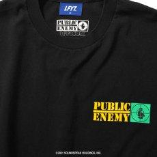 画像5: X Public Enemy Target S/S Tee パブリック エネミー 半袖 Tシャツ Black ブラック (5)