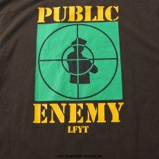 画像5: X Public Enemy Target S/S Tee パブリック エネミー 半袖 Tシャツ Brown ブラウン (5)