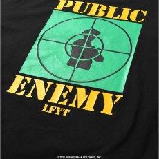 画像8: X Public Enemy Target S/S Tee パブリック エネミー 半袖 Tシャツ Black ブラック (8)