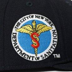 画像9: X DSNY X New Era ニューエラ Community Services LF Logo 59Fifty キャップ 帽子 (9)