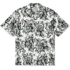 画像1: Hinterland S/S Allover Open Colour Shirt オープンカラー ルーズフィット アロハ 半袖 柄 シャツ (1)