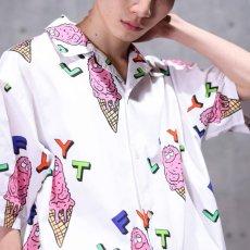 画像1: × Rabuns Melting Mr.Snub S/S Shirt ラブン 開襟 半袖 シャツ (1)
