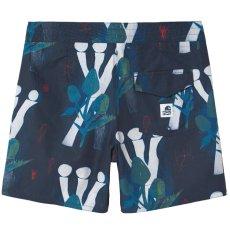 画像1: Shaka Swim Trunk Shorts スイム ナイロン ショーツ インナー無し イージー Tom Król Flowers (1)
