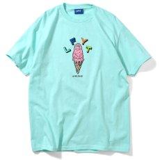 画像1: × Rabuns Melting Mr.Snub ラブン 半袖 Tシャツ (1)