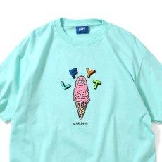 画像2: × Rabuns Melting Mr.Snub ラブン 半袖 Tシャツ (2)