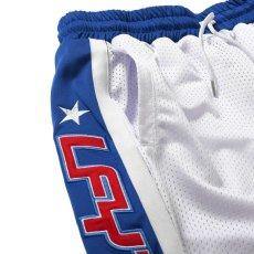 画像4: Sports Logo Basketball Shorts オーバーサイズ バスケット ボール ショーツ  (4)