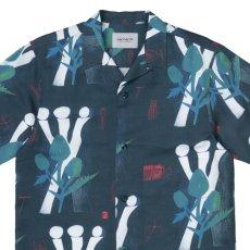 画像5: Tom KRÓL Flowers S/S Allover Open Colour Shirt 半袖 柄 シャツ (5)