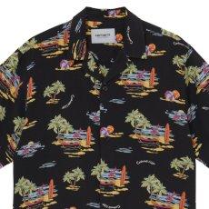 画像3: Beach S/S Allover Open Colour Shirt オープンカラー ルーズフィット アロハ 半袖 柄 シャツ (3)