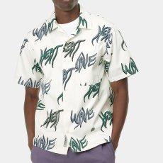 画像4: Heat Wave S/S Allover Open Colour Shirt オープンカラー ルーズフィット 半袖 柄 シャツ (4)