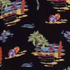画像5: Beach S/S Allover Open Colour Shirt オープンカラー ルーズフィット アロハ 半袖 柄 シャツ (5)