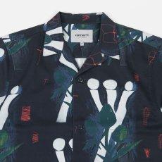 画像6: Tom KRÓL Flowers S/S Allover Open Colour Shirt 半袖 柄 シャツ (6)