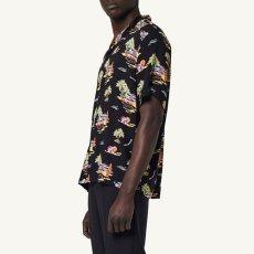 画像4: Beach S/S Allover Open Colour Shirt オープンカラー ルーズフィット アロハ 半袖 柄 シャツ (4)