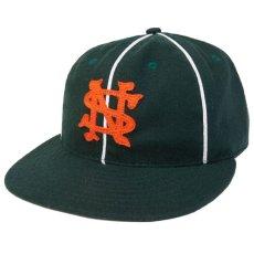画像1: × Ebbets Field Player Baseball Piping Cap エベッツ フィールド ベースボール パイピング キャップ 帽子 (1)