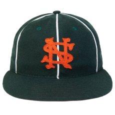 画像3: × Ebbets Field Player Baseball Piping Cap エベッツ フィールド ベースボール パイピング キャップ 帽子 (3)