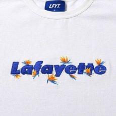 画像3: Bird Of Paradise Logo S/S Tee 半袖 Tシャツ 極楽鳥花 ストレリチア ロゴ White by Lafayette ラファイエット  (3)
