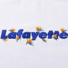 画像4: Bird Of Paradise Logo S/S Tee 半袖 Tシャツ 極楽鳥花 ストレリチア ロゴ White by Lafayette ラファイエット  (4)