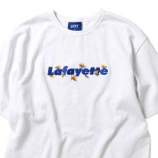 画像2: Bird Of Paradise Logo S/S Tee 半袖 Tシャツ 極楽鳥花 ストレリチア ロゴ White by Lafayette ラファイエット  (2)