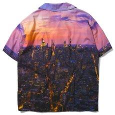 画像3: × SDJ Skyline Allover S/S Shirt エスディージェー スカイライン 開襟 半袖 シャツ 総柄 オールオーバー Purple (3)
