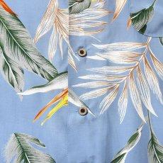 画像7: Bird Of Paradise S/S Aloha Shirt アロハ シャツ Blue (7)