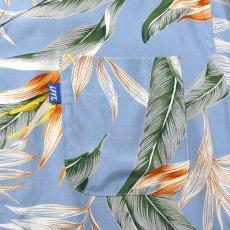 画像6: Bird Of Paradise S/S Aloha Shirt アロハ シャツ Blue (6)