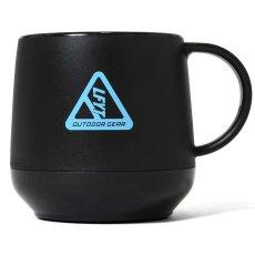 画像2: Outdoor Logo Pla Thermo Mug アウトドア ロゴ 二層構造 マグカップ Black Navy Olive (2)