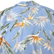 画像5: Bird Of Paradise S/S Aloha Shirt アロハ シャツ Blue (5)