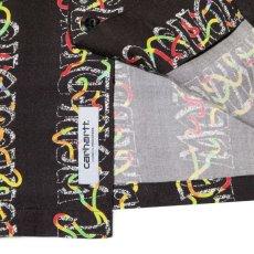 画像5: Transmission S/S Allover Open Colour Shirt オープンカラー ルーズフィット 半袖 柄 シャツ Black (5)