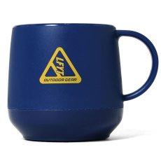 画像3: Outdoor Logo Pla Thermo Mug アウトドア ロゴ 二層構造 マグカップ Black Navy Olive (3)