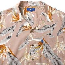 画像3: Bird Of Paradise S/S Aloha Shirt アロハ シャツ Beige (3)