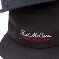 画像6: Fool Me Once 5-Paneel Dry Nylon Cap パネル ナイロン キャップ 帽子 Khaki Black (6)