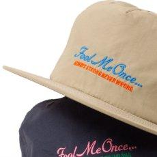 画像5: Fool Me Once 5-Paneel Dry Nylon Cap パネル ナイロン キャップ 帽子 Khaki Black (5)