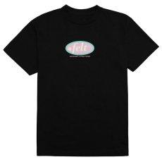 画像1: For Every Living Thing Hampton Logo S/S Tee ハンプトン ロゴ 半袖 Tシャツ Black  (1)