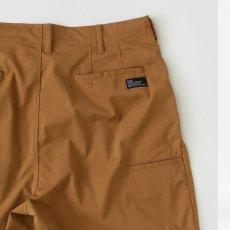 画像6: Polyhalf Wide Shorts ワイド ショーツ ベルトレス イージー SOLOTEX 2タック Camel Brown (6)