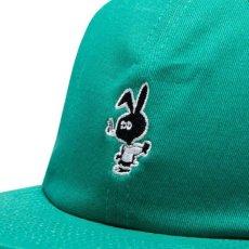 画像10: Bunny 6 Panel embroidery Cap CWFG バニー キャップ 帽子 White Green (10)