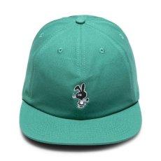 画像8: Bunny 6 Panel embroidery Cap CWFG バニー キャップ 帽子 White Green (8)