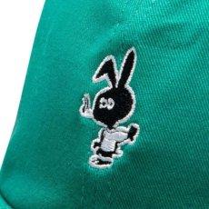 画像4: Bunny 6 Panel embroidery Cap CWFG バニー キャップ 帽子 White Green (4)