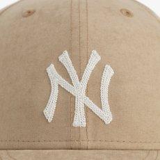 画像5: × Aime Leon dore LP 59Fifty Cap NewYork Yankees Brushed Nylon Beige エメ レオン ドレ ニューヨーク ヤンキース キャップ 帽子 Kith ベージュ (5)