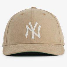 画像2: × Aime Leon dore LP 59Fifty Cap NewYork Yankees Brushed Nylon Beige エメ レオン ドレ ニューヨーク ヤンキース キャップ 帽子 Kith ベージュ (2)