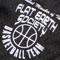 画像6: Frozen Goods Flat Earth Basketball Team Shorts バスケットボール メッシュ ショーツ CWFG Black (6)