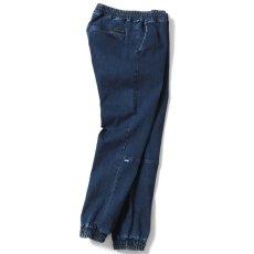 画像3: Stretch Jogger Pants ジョガー パンツ Indigo Denim インディゴ デニム (3)