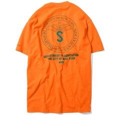 画像3: X DSNY Community Services S/S Tee 半袖 Tシャツ デイーエスエヌワイ Orange (3)